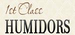 1st Class Humidors Coupon Codes