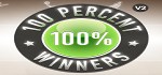 100 Percent Winners Coupon Codes