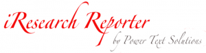 iResearch Reporter Coupon Codes